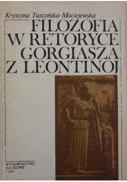 Filozofia w retoryce Gorgiasza z Leontinoj
