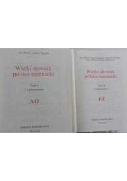 Wielki słownik polsko-niemiecki Tom I-II