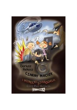 Czarny Maciek i wenecki starodruk audiobook