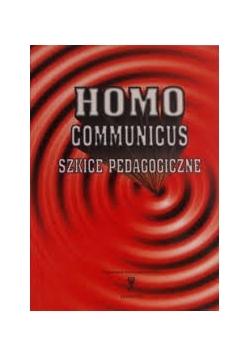 Homo communicus. Szkice pedagogiczne.