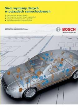Bosch. Sieci wymiany danych w pojazdach samochod.
