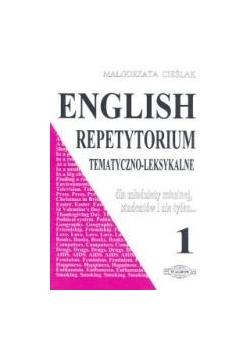 English repetytorium tematyczno-leksykalne 1