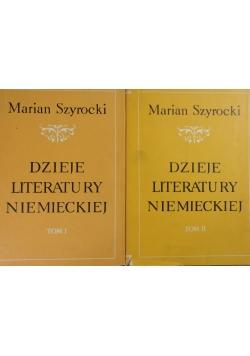 Dzieje literatury niemieckiej, Tom 1 i 2