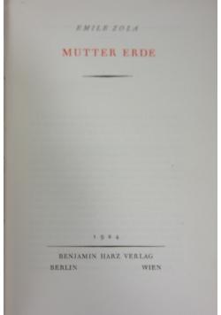 Mutter Erde 1924 r.
