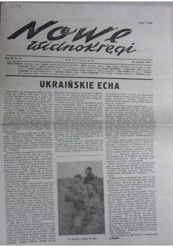 Nowe widnokręgi, Dwutygodnik, nr 18.  1943 r.