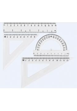 Zestaw geometryczny transparent GR-031T GRAND