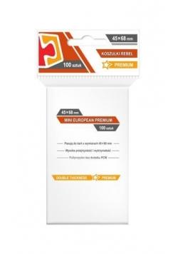 Koszulki Mini European Premium 45x68 (100szt)REBEL
