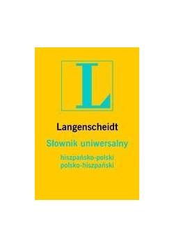 """Słownik uniwersalny pol-hiszp-pol """"L"""""""