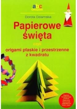 Papierowe święta czyli origami płaskie...