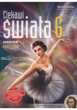 Ciekawi świata Muzyka 6 Podręcznik