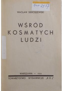 Wśród kosmatych ludzi , 1934 r.