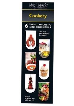 Zakładki magnetyczne Cookery 6 sztuk