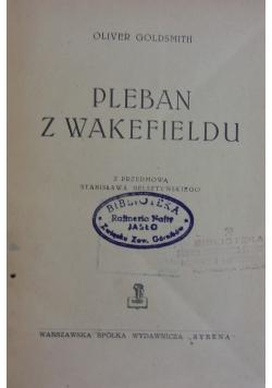 Pleban z Wakefieldu.1947r