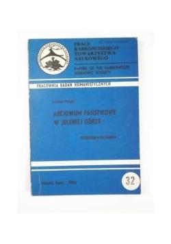 Pracownia Badań Humanistycznych: Archiwum Państwowe w Jeleniej Górze