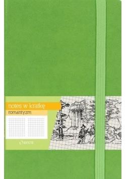 Notes A5 Kratka Romantyzm Zielony ANTRA