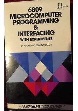 6809 Microcomputer programming&Interfacing with experiments