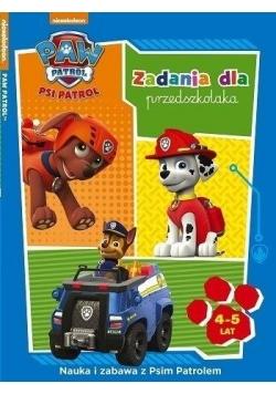 Psi Patrol. Zadania dla przedszkolaka 4-5 lat