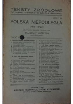 Polska Niepodległa, 1924 r.
