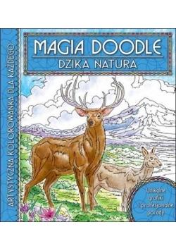 Magia Doodle. Dzika natura