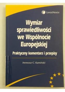 Wymiar sprawiedliwości we Wspólnocie Europejskiej