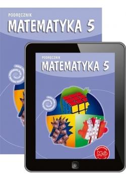 Matematyka SP 5 podr. + multipodręcznik w.2013 GWO
