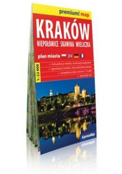 Premium!map Kraków,Niepołomice,Skawina plan miasta
