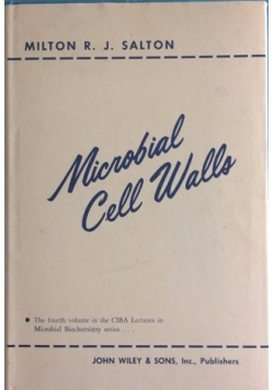 Microbial Cell Walls