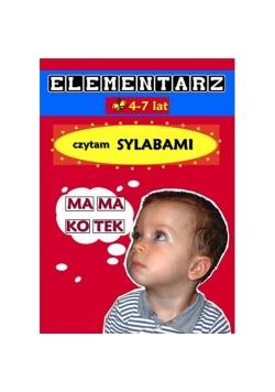 Elementarz 4-7 lat Czytam sylabami