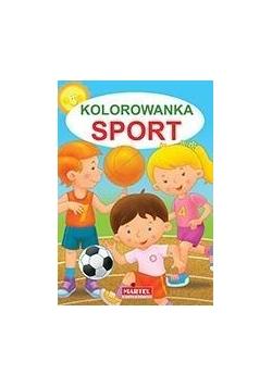 Kolorowanka. Sport