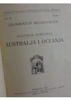Australja i oceanja, 1927r.