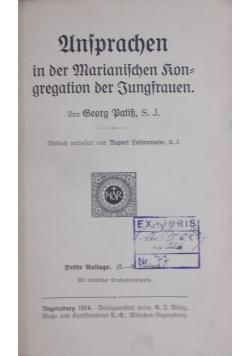Unsprachen,1914 r.