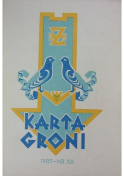 Karta Groni 1985--NR XIII