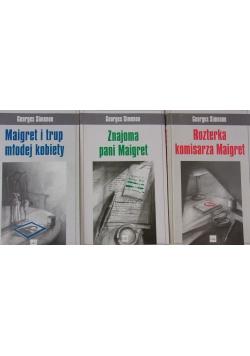 Maigret i trup młodej kobiety/Znajoma pani Maigret/Rozterka komisarza Maigret