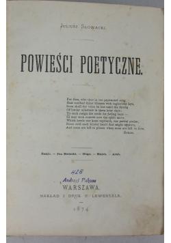 Powieści poetyczne, 1874r.