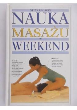 Nauka masażu w weekend