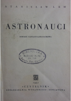 Astronauci wydanie I