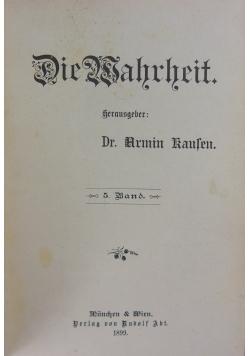 Die Wahrheit , 1899 r.