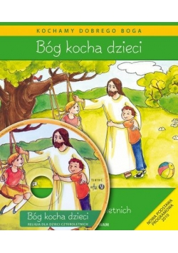 Katechizm dla 4-latków Bóg Kocha Dzieci WAM