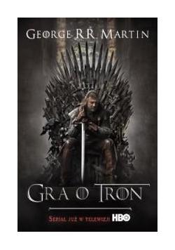Gra o tron - George R.R. Martin okł. Film.br