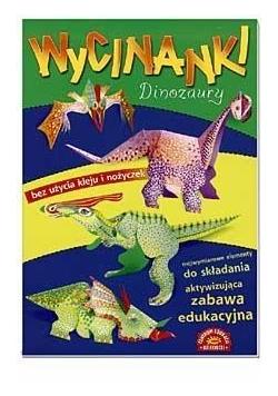 Wycinanki. Dinozaury