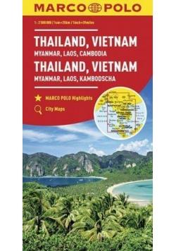 Mapy kontynentalne Tajlandia..1:2,5 mil.