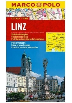 Plan Miasta Marco Polo. Linz