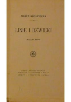 Linie i dźwięki wyd. 1911 r.