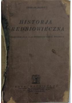 Historia średniowieczna - 1926 r.