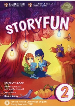 Storyfun for Starters 2 Student's Book with Online Activities and Home Fun Booklet 2