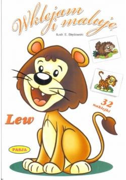 Wklejam i maluję - Lew