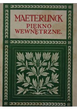 Piękno wewnętrzne, 1922r.