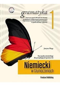 Niemiecki w tlumaczeniach. Gramatyka 1 + CD