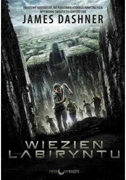 Więzień labiryntu T.1 okładka filmowa