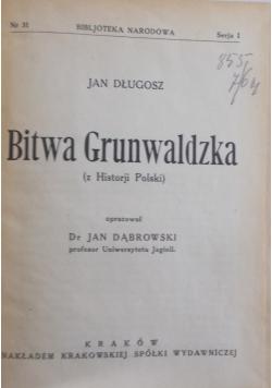 Bitwa Grunwaldzka, 1921 r.